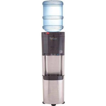 Whirlpool Commercial Version Water Cooler, Ice Chilled Water, Steaming Hot, Stainless Steel Water Dispenser by Whirlpool