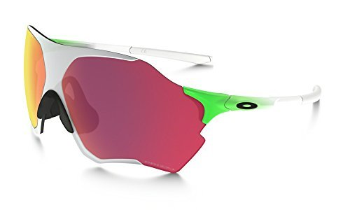 Oakley Unisex (A) Evzero Range Green Feld/Chrome Iridum - Oakley Chrome