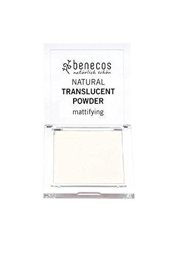 BENECOS - Cipria opacizzante ecobio - Trasparente - Fissa il trucco - 100% naturale - Senza sostanze chimiche nocive - Certificata BDIH - 6, 5g Yumi Bio Shop
