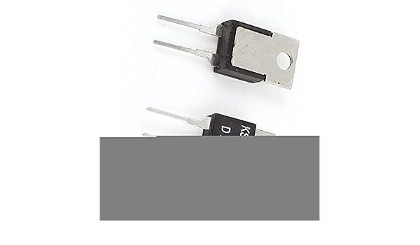 Aexit 2Pcs KSD-01F H75C 75C N.C Termostato de interruptor de ...