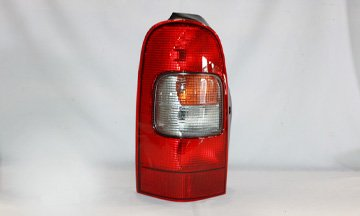 TYC 11-5132-00-1 Left Replacement Tail Lamp - Oldsmobile Silhouette Tail Light Lamp