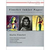 Hahnemuhle Matte Museum Etching, 100% Rag, Natural White Watercolor Inkjet Paper, 22.0 mil., 350 g/mA, 13x19