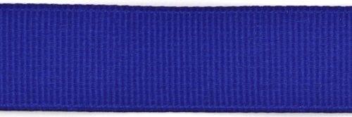 Kel-Toy Polyester Grosgrain Ribbon, 5/8-Inch by 25-Yard, Royal Blue