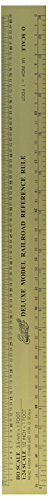 Model Railroad Hobby - Excel Deluxe Model Railroad Reference ruler