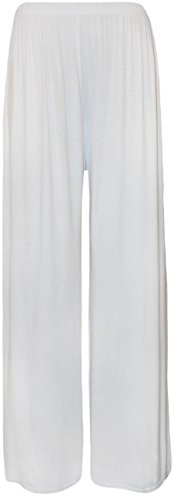 Papaval - Pantalón - para mujer White Plain