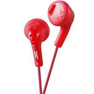 - JVC America Genuine Gumy Headphone Red