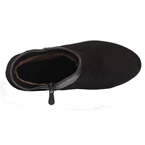 Classic AIYOUMEI AIYOUMEI Women's Black Classic Women's Boot TqHZT