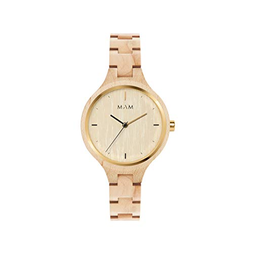 Reloj MAM para Chica Color Camel, Esfera Camel.606-000118: Amazon.es: Relojes