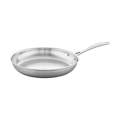 Henckels, Fry Pan Stainless Steel 3 Ply 12 Inch