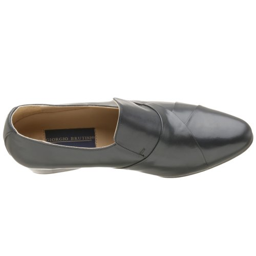 Giorgio Brutini Mens 24461 Slip On Mocassino Blu Scuro