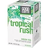 GOOD EARTH TEA,OG2,TROPICAL RUSH, 18 CT