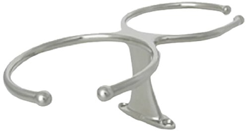 Ambassador Marine Double Drink Holder, 316 Stainless Steel