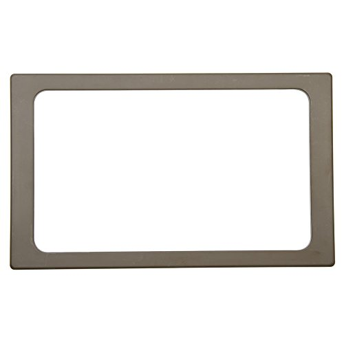 Full Size Cold Food Bar Tile Tray Brown Melamine - 21'' L x 12 3/4 W by Hubert