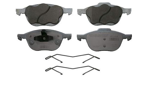 Disc Brake Pad Set-ThermoQuiet Disc Brake Pad Front Wagner QC1563