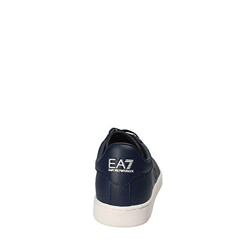 classic Armani pelle sneakers in Blu EA7 uomo scarpe Emporio nuove blu xpwCq8nRnS