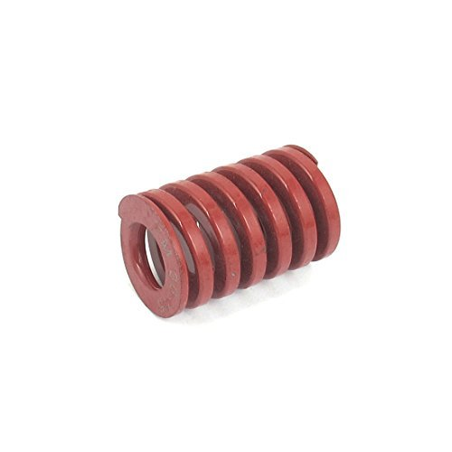 DealMux Medium Last Spiral Stamping Compression Die Feder 30mmx45mm Red DLM-B019001PLS