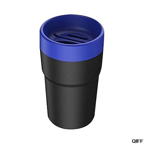 KKJLXX Drop Ship /& Wholesale Auto Bidone della Spazzatura Mini Car Trash Can Car Posacenere Stoccaggio rifiuti con portacarte Coin Cup 12 Giugno Color Name : Blue, Size : One Size