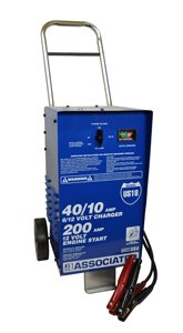 40/40/10 AMPS with 300 Boost USA Battery Charger
