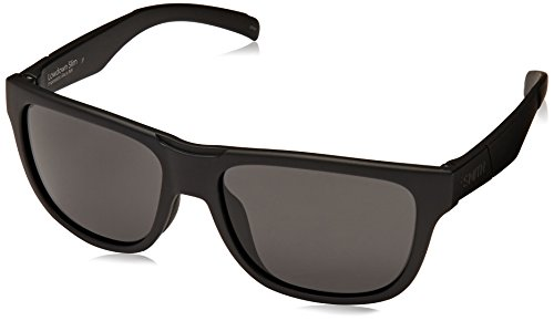 Smith Lowdown Slim Carbonic Sunglasses, Impossibly Black Frame