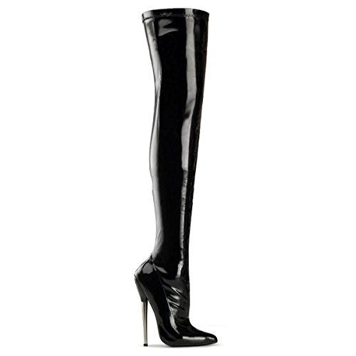 Devious Dagger-3000 - zapatos de tacón alto mujer fetiche extremos botas - tamaño 35-45