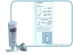 Ge icemaker filter kit ap717 replacement refrigerator dispenser water filters for Ge exterior refrigerator icemaker filter