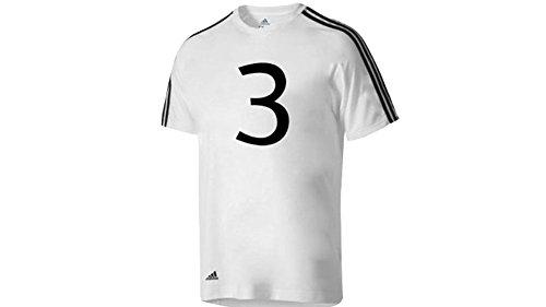Todd Ingram #3 Adidas Scott Pilgrim Vs. The World Costume White T-shirt (Adult - Ingram Stores