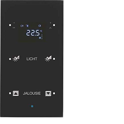 Hager ts - Sensor 2 fases termostato con inscripción negro ...