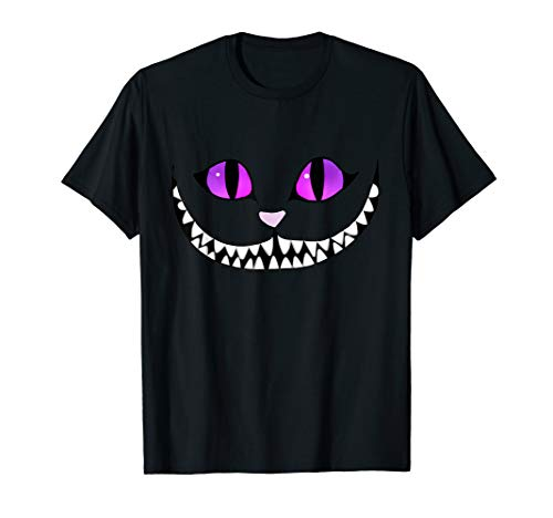 Halloween Cheshire Cat Grinning Smile Wonderland Floating ()