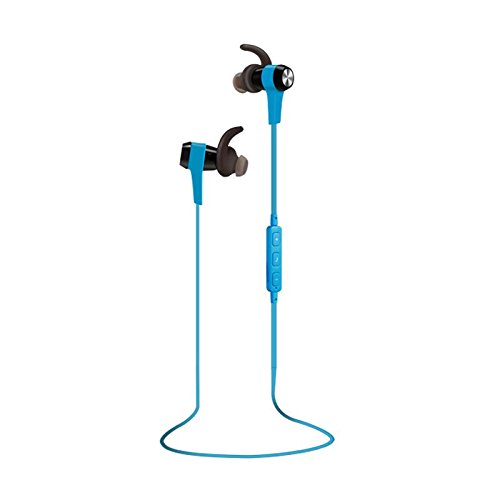 Sextet Bluetooth Headphones Wireless In-Ears Sports Earbuds, Sweatproof Earphones Noise Cancelling Headsets with Mic for Running Gym Workout 12 Hours battery (Blue) (Phone Sextet)