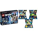 LEGO DIMENSIONS BUNDLE : PS3 Starter Pack + Lego Pack Mission Impossible 71248 + Adventure Time 71245 + Fun Pack A-Team 71251