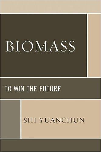 Pdf download gratuito Biomass: To Win the Future by Shi