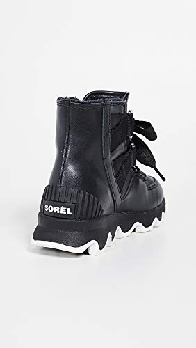 Boot Sorel Nero Short Donna Lace bianco Kinetics rrqxwXE5