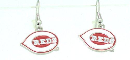 Cincinnati Reds Ring - MLB Cincinnati Reds  Dangler Earrings