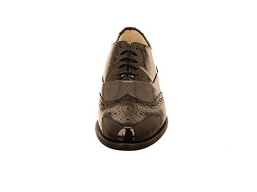 De 43011540166 Lacets À Noir Chaussures Hassia Femme Ville Pour RSwqx6nTEU