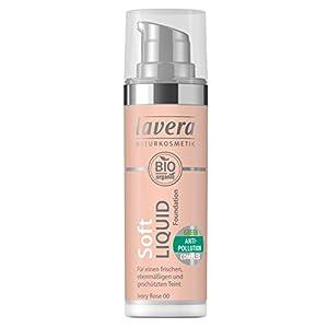 lavera Soft Liquid Foundation -Ivory Rose 00- Fond de Teint Fluide ∙ Vegan Cosmétiques naturels Make up Ingrédients…