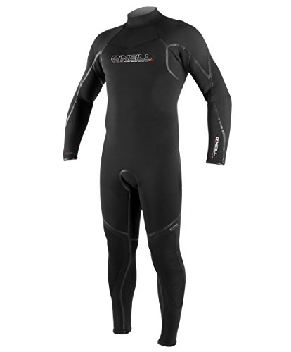 (O'Neill Men's Dive Sector 7mm Back Zip Full Wetsuit, Black, Medium)