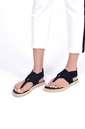 Nalho Women's Yoga Mat Memory Foam Espadrilles Sandals, Ganika Black 6 by Nalho (Image #1)
