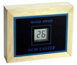 Maximum Nor'easter Wind Speed Instrument with LCD display for up to 100- MPH Winds by Maximum