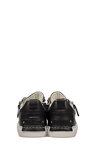 Crime London Homme 11245KS120 Noir Cuir Baskets