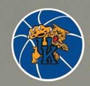 Fathead Vinyl (FATHEAD Kentucky Wildcats Team Basketball Logo Official NCAA Vinyl Wall Graphic 14