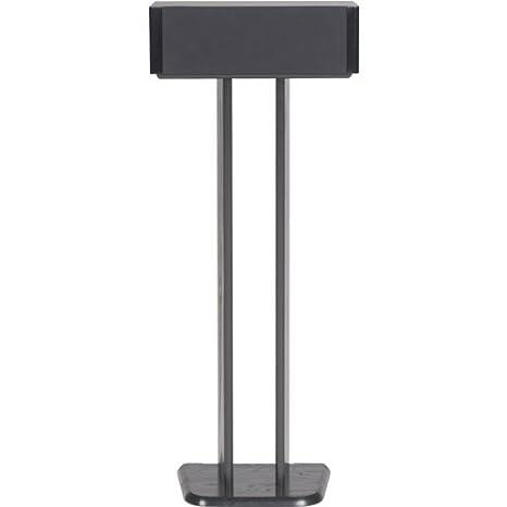 Amazon Com Cc Series Hardwood Center Channel Speaker Stands Home
