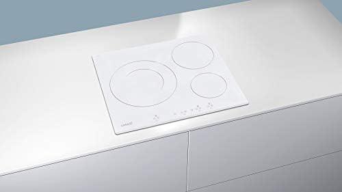 CATA IB 6030 WH (Integrado, con Placa de inducción, Blanco, 1200 W ...