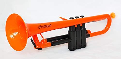 pBone PTRUMPET1O The Plastic Trumpet, Orange by pBone (Image #1)