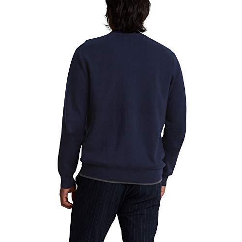 Dockers Men's Long Sleeve Full Zip Sweater