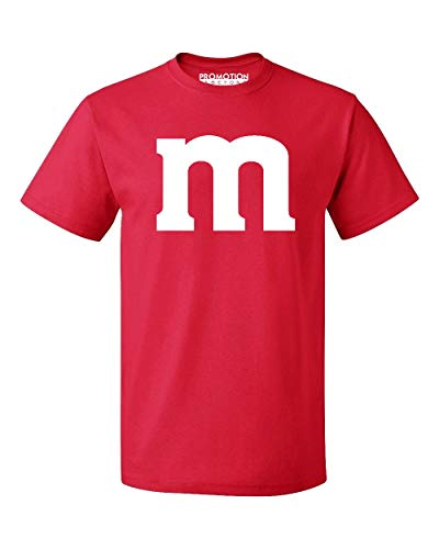 Promotion & Beyond M Halloween Team Costume Funny Party Men's T-Shirt, L, Red -