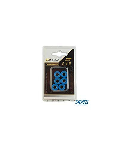 Galets de variateur Doppler 15x12mm 4.5 G. x6