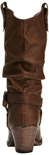 Chocolate Sidestep para Botas Marrón mujer Dog Rocket 1qSTHH
