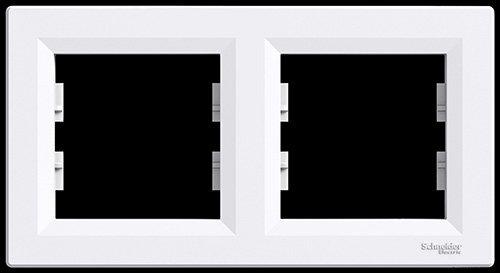Schneider Electric Eph5800221–2éléments Cadre, Blanc