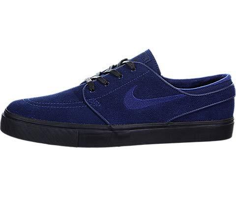 0b3ebbed1b6ed Nike Zoom Stefan Janoski Mens Skateboarding-Shoes 333824-421_7.5 - Blue  Void/Blue Void-Black