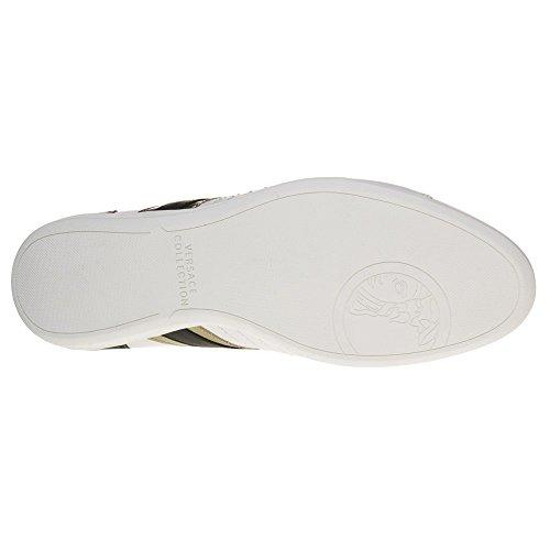 Bianco Versace Formal Collection Uomo Sneaker rIxrFw1Pq